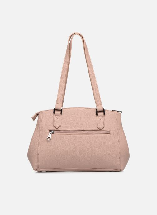 Bolsos de mano Hexagona MADRID 3 COMPARTIMENTS EPAULE Rosa vista de frente